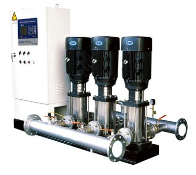 采用变频恒压供水保护功能齐全
